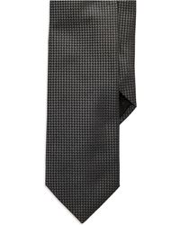 Hugo Boss Black Textured Tie - Lyst