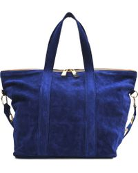Vanessa Bruno Atlanta Double Strapped Bag - Lyst