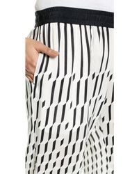 Paul Smith - Elastic Waist Trousers - Cream - Lyst