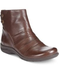 Clarks Collections Womens Christine Tilt Booties - Lyst