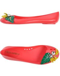DSquared² Ballet Flats pink - Lyst