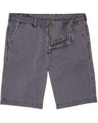 Label Lab Foreman Vintage Washed Shorts - Lyst