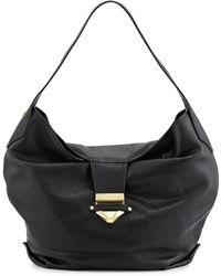 Foley + Corinna Oasis Leather Hobo Bag - Lyst