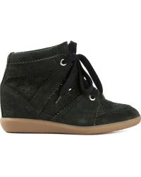 Etoile Isabel Marant Bobby Hitop Sneakers - Lyst