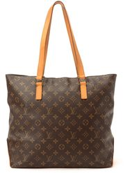 Louis Vuitton Monogram Cabas Mezzo Tote Bag - Lyst