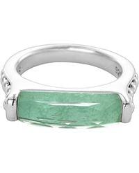 Lagos Maya Silver Variscite Stackable Ring - Lyst