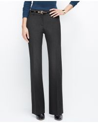 Ann Taylor Curvy Allseason Stretch Trousers - Lyst