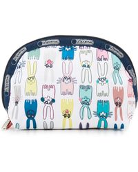 LeSportsac - Designed By Peter Jensen Medium Dome Cosmetic Pouch - Lyst