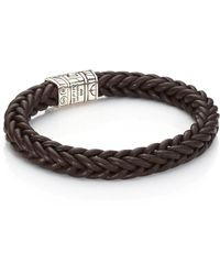 John Hardy | 40th Anniversary Classic Chain Leather Bracelet | Lyst