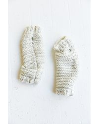 Urban Outfitters - Ribbed Sequin Fingerless Glove - Lyst