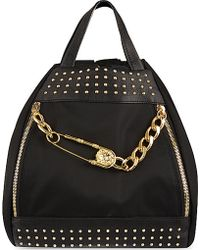 Versus  Pin Chain Backpack - Lyst