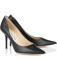 Jimmy Choo Black Agnes - Lyst
