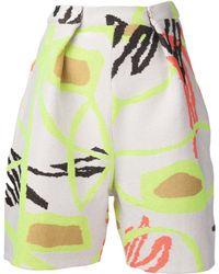 Leutton Postle Knit Shorts - Lyst