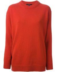 Gucci Orange Knit Sweater - Lyst