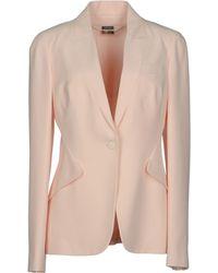 Alexander McQueen Blazer pink - Lyst