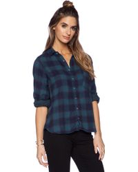 Cp Shades Jay Plaid Button Up - Lyst