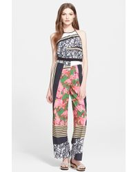 Clover Canyon - 'scribble Scarf' Print Jumpsuit - Lyst
