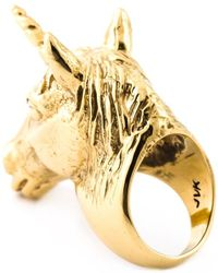 Leivan Kash - 'Unicorn' Ring - Lyst