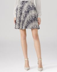 Reiss Skirt - Hilbury Pleated Mini - Lyst
