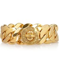 Marc By Marc Jacobs Katie Gold-tone Chain Bracelet - Lyst