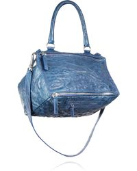 Givenchy   Pandora Pepe Medium Leather Shoulder Bag   Lyst