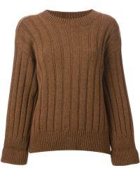 Gucci Three Quarter Sleeve Sweater - Lyst