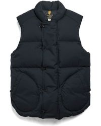 Todd Snyder - Military Down Vest In Navy - Lyst