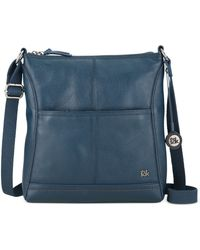The Sak Iris Leather Crossbody Bag - Lyst