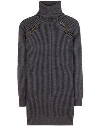 Tory Burch Mckenna Wool Sweater Dress - Lyst