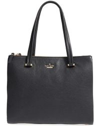 Kate Spade | 'emerson Lane - Dasha' Leather Tote | Lyst