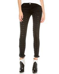 Theyskens' Theory - Winset Destroyed Payden S Jeans Asphalt - Lyst