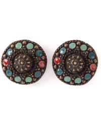 Jean Paul Gaultier Enamel Earrings - Lyst
