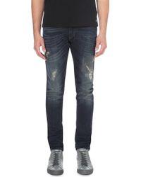 Diesel Tepphar Slim-fit Tapered Skinny Jeans - Lyst