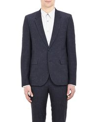 Paul Smith Speckled Crosshatch Two-Button Sportcoat - Lyst