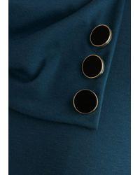 Monteau Inc - Coach Tour Dress in Sea Blue - Lyst