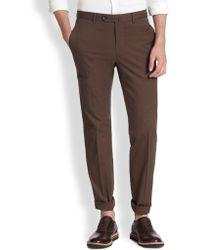 Incotex Traveller Stretch-cotton Gabardine Pants - Lyst