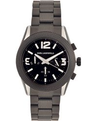 Karl Lagerfeld Gray Kurator Watch - Lyst