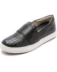 Matt Bernson - Finn Slip On Sneakers - Bone Croco/Black - Lyst