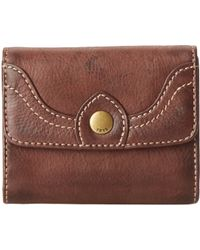 Frye Campus Small Wallet - Lyst
