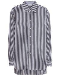 Ralph Lauren Striped Cotton Shirt - Lyst
