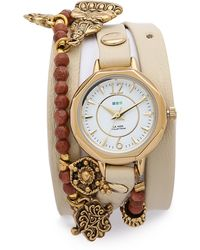 La Mer Collections - Amulet Wrap Watch - Sandstone - Lyst