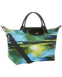 Longchamp Le Pliage Nã©O Fantasie Medium Handbag - Lyst