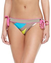Trina Turk New Pop Wave Hipster Tie Bottom - Lyst