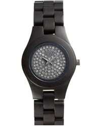 WeWood - 'moon Crystal' Wood Bracelet Watch - Lyst