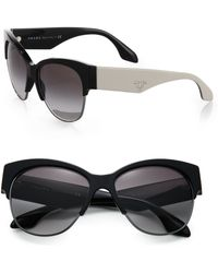 Prada Two-Tone 56Mm Phantos Sunglasses - Lyst