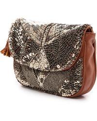Antik Batik Darix Pouch  Brown - Lyst