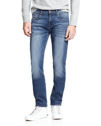 7 For All Mankind Luxe Performance: The Straight Modern Straight-Leg Jeans - Lyst