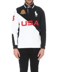Ralph Lauren Custom-fit Cotton-piqué Polo Shirt - Lyst