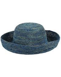 Onigo - Wide Brim Straw Hat - Lyst af8da96e434e