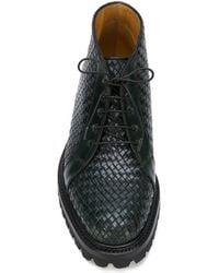 Weber Hodel Feder - Weave Lace-up Boots - Lyst
